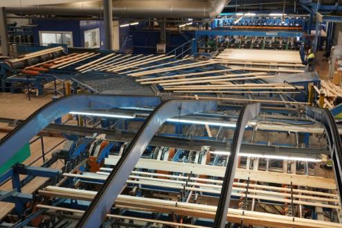 Segezha Group продолжает модернизацию деревообрабатывающего завода «Карелиан Вуд Кампани»