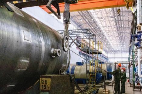Петрозаводскмаш испытал гидроёмкость системы безопасности Курской АЭС-2