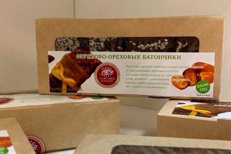 Фруктово-ореховые батончики карельского предпринимателя удостоены регионального знака качества