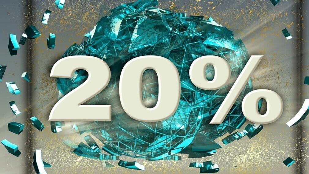 Акция для новых клиентов «-20% на первый счёт» продлится весь июнь