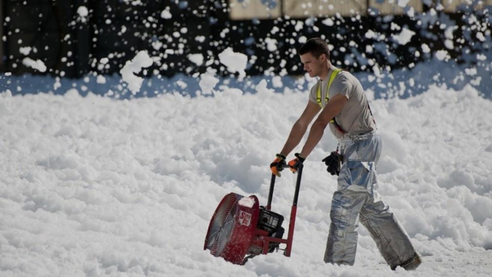 В Новосибирске собрали беспилотник, способный заменить дворника