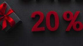 Акция «20% на первый счёт»: станьте нашим клиентом с выгодой