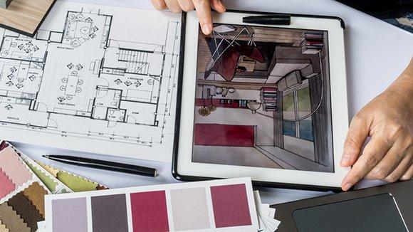Услуги дизайна интерьеров и экстерьеров