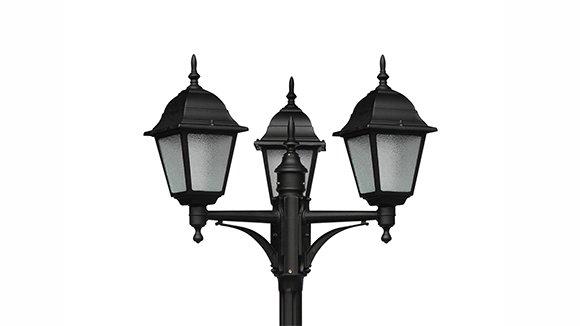 Стальные и чугунные фонари
