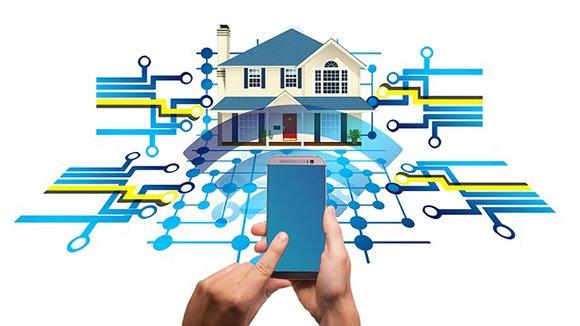 Беспроводное управление домов