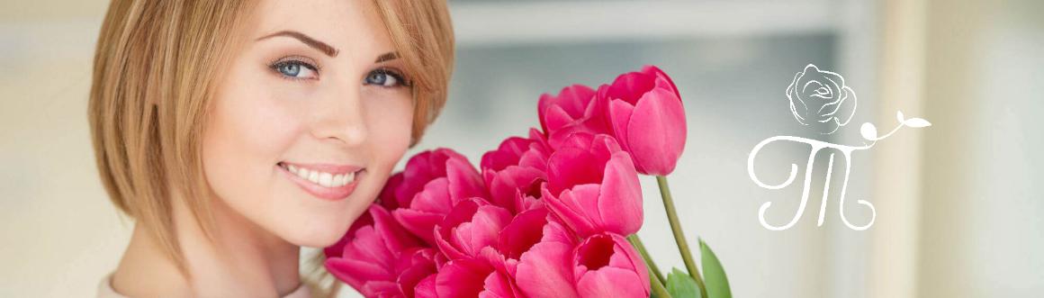 Постер Доставка цветов в Петрозаводске | Сеть «Татьяна»