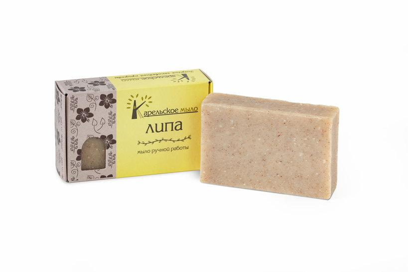 Натуральное мыло Липа, фото 1