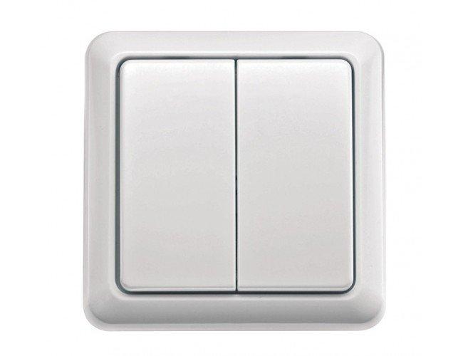 Выключатель AWST-88022 настенный беспроводной клавиши COCO 71012 0, фото 1