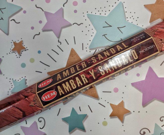 """""""Amber Sandal/Амбер (амбра) Сандал"""" Благовония HEM, фото 1"""
