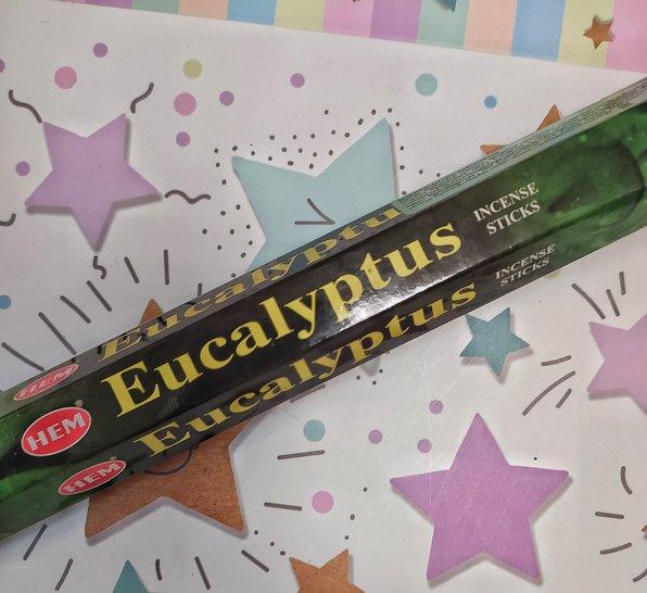 """""""Eucalyptus/Эвкалипт"""" Благовония HEM, фото 1"""