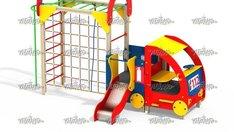 Пожарная машина с горкой МФ 4.022
